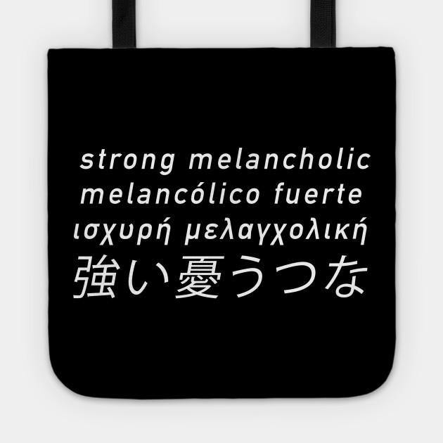 melancolic