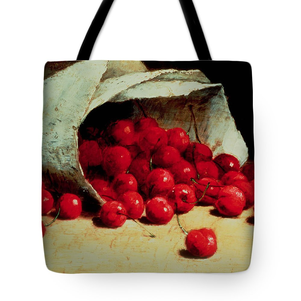 cherry totebag