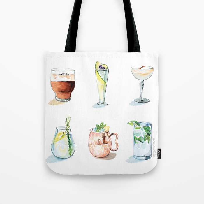 cocktail totebag