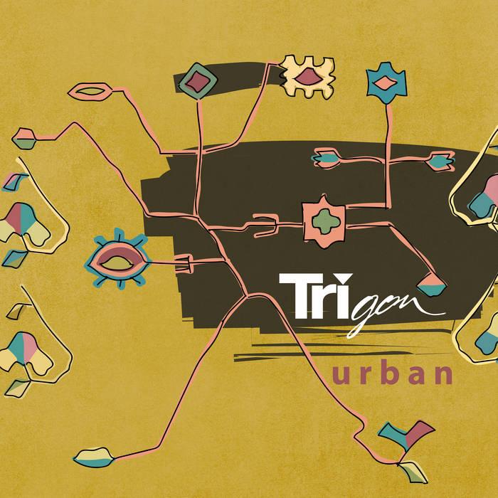 Trigon band Moldova album cover Urban